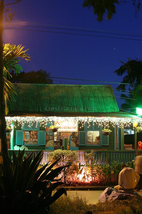 Ragamuffin's Bar and Restaurant.First Street.Holetown, St. James Parish.Barbados
