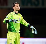 Nederland, Almelo, 29 augustus 2015<br /> Eredivisie<br /> Seizoen 2015-2016<br /> Heracles Almelo-FC Twente<br /> Bram Castro, keeper (doelman) van Heracles Almelo