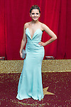 © Licensed to London News Pictures . 16/05/2015 .  The Palace Hotel , Manchester , UK . Natalie Davies . The red carpet at the 2015 British Soap Awards , The Palace Hotel , Oxford Road , Manchester . Photo credit : Joel Goodman/LNP