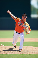 Baltimore Orioles pitcher Jake Bray (86) during an Instructional League game against the Boston Red Sox on September 22, 2016 at the Ed Smith Stadium in Sarasota, Florida.  (Mike Janes/Four Seam Images)