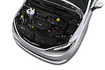 Car stock 2018 Chrysler Pacifica LX 5 Door Mini Van engine high angle detail view