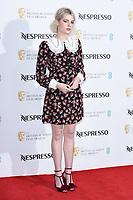 Lucy Boynton<br /> arriving for the 2019 BAFTA Film Awards Nominees Party at Kensington Palace, London<br /> <br /> ©Ash Knotek  D3477  09/02/2019