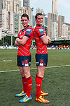 East Hotel HK Scottish Exiles during day 1 of the 2014 GFI HKFC Tens at the Hong Kong Football Club on 26 March 2014. Photo by Xaume Olleros / Power Sport Images