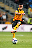 23rd May 2021; Molineux Stadium, Wolverhampton, West Midlands, England; English Premier League Football, Wolverhampton Wanderers versus Manchester United; Marçal of Wolverhampton Wanderers passes the ball in midfield