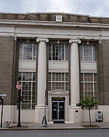 Hinton, West Virginia. City Library, formerly National Bank of Summers of Hinton.