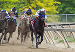 May 16, 2015: Fame and Power with Martin Garcia up win the Sir Barton Stakes at Pimlico Race Course in Baltimore, Maryland. Zoe Metz/ESW/CSM