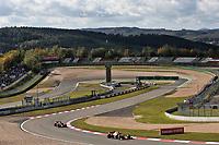 10th October 2020, Nuerburgring, Nuerburg, Germany; FIA Formula 1 Eifel Grand Prix, Qualifying sessions;  23 Alexander Albon THA, Aston Martin Red Bull Racing and 33 Max Verstappen NLD, Aston Martin Red Bull Racing