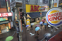 ABC MART AND BURGER KING IN SHIBUYA CENTERGAI STREET