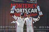#6 Acura Team Penske Acura DPi, DPi: Juan Pablo Montoya, Dane Cameron podium