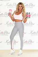 Katie Price<br /> launches her new range Katie Price Nutrition at The Worx, London. <br /> <br /> <br /> ©Ash Knotek  D3258  25/04/2017