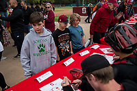 STANFORD, CA -- March 1, 2020. The Stanford Cardinal men's baseball team defeats the Grand Canyon Lopes 8-2 at Sunken Diamond.