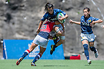 Argentina vs Hong Kong during the Day 2 of the IRB Women's Sevens Qualifier 2014 at the Skek Kip Mei Stadium on September 13, 2014 in Hong Kong, China. Photo by Aitor Alcalde / Power Sport Images