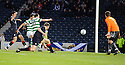 CELTIC'S ANTHONY STOKES SCORES CELTIC'S THIRD