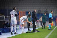 4th November 2020, Basaksehir Fatih Stadium, Istanbul, Turkey; UEFA Champions League football,  Basaksehir versus manchester United;   Paul Pogba and Edison Cavani of Manchester United