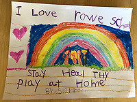 Stay at home- Sierra Mason Grade 1, Yarmouth Maine