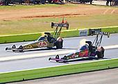 NHRA Mello Yello Drag Racing Series<br /> AAA Texas NHRA FallNationals<br /> Texas Motorplex<br /> Ennis, TX USA<br /> Sunday 15 October 2017 Antron Brown, Matco Tools, top fuel dragster<br /> <br /> World Copyright: Mark Rebilas<br /> Rebilas Photo