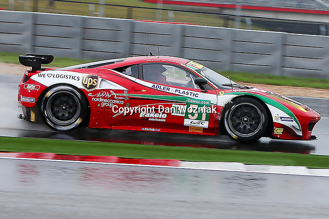 Gianmaria Bruni (51), AF Corse driver in action during the ALMS/WEC practice sessions at the Circuit of the Americas race track in Austin,Texas.