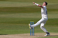 Peter Siddle of Essex in bowling action during Warwickshire CCC vs Essex CCC, LV Insurance County Championship Group 1 Cricket at Edgbaston Stadium on 23rd April 2021