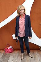 Marie-Anne Chazel seen at 'Le Village de Roland Garros' during Roland Garros tennis open 2016.