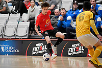 Cameron Emberton of Canterbury during the  Capital Futsal Team, Men's Futsal SuperLeague, Canterbury United Futsal Dragons v Capital Futsal at ASB Sports Centre, Wellington on Saturday 31 October 2020.<br /> Copyright photo: Masanori Udagawa /  www.photosp ort.nz