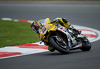 Josh Brookes (25) of Anvil Hire Tag Yamaha during practice in the MCE BRITISH SUPERBIKE Championships 2017 at Brands Hatch, Longfield, England on 13 October 2017. Photo by Alan  Stanford / PRiME Media Images.