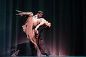 "London, UK. 29.02.2016. German Cornejo's ""Immortal Tango"" opens at the Peacock Theatre. The dancers are: German Cornejo, Gisela Galeassi, Jose Fernandez, Martina Waldman, Max Van De Voorde, Solange Acosta, Mariano Balois, Sabrina Amuchastegui, Leonard Luizaga, Mauro Caiazza, Tere Sanchez Terraf, Julio Seffino, Carla Dominguez. Picture shows: German Cornejo, Gisela Galeassi. Photograph © Jane Hobson."