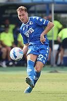 Nicolas Haas of Empoli FC in action during the Serie A football match between Empoli FC  and Venezia FC at Carlo Castellani stadium in Empoli (Italy), September 11th, 2021. Photo Paolo Nucci / Insidefoto