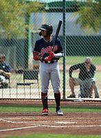 George Valera - Cleveland Indians 2019 spring training (Bill Mitchell)