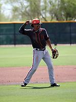 Luis Toribio - San Francisco Giants 2019 extended spring training (Bill Mitchell)