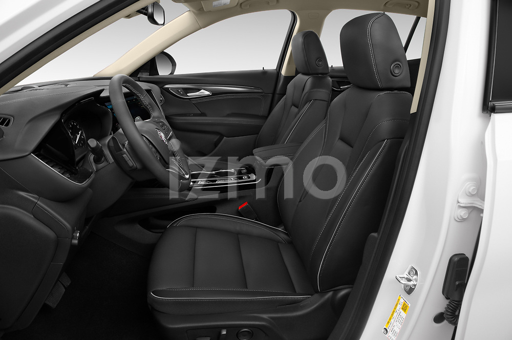 Front seat view of a 2021 Buick Envision Essence 5 Door SUV