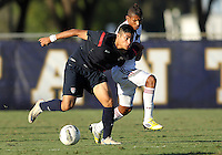 MIAMI, FL - DECEMBER 21, 2012:  Mario Rodriguez of the USA MNT U20 during a closed scrimmage with the Venezuela U20 team, on Friday, December 21, 2012, At the FIU soccer field in Miami.  USA won 4-0.