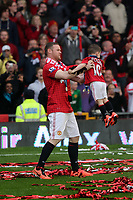 Pictured: Wayne Rooney.<br /> Sunday 12 May 2013<br /> Re: Barclay's Premier League, Manchester City FC v Swansea City FC at the Old Trafford Stadium, Manchester.