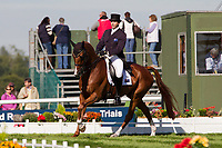 AUS-Clayton Fredericks (WALTERSTOWN DON) 2012 GBR-Land Rover Burghley International Horse Trial: FRIDAY DRESSAGE - INTERIM-(40.80) 3RD