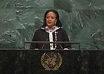 72 General Debate – 22 September <br /> <br /> <br /> <br /> Kenya MP