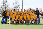 Otago Team Photo. Men's U18 Hockey Nationals, Gallagher Hockey Centre, Hamilton. Sunday 11 July 2021. Photo: Simon Watts/www.bwmedia.co.nz