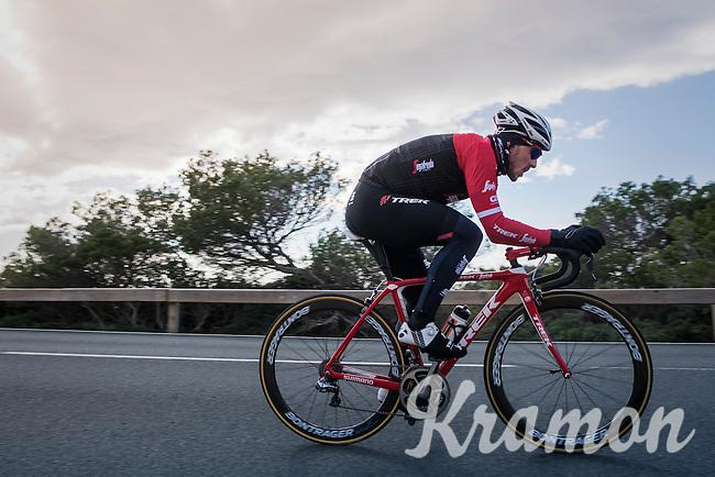 John Degenkolb (DEU/Trek-Segafredo) pushing forward<br /> <br /> Team Trek-Segafredo winter training camp <br /> <br /> january 2017, Mallorca/Spain