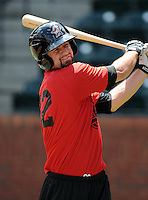 Infielder Marcus Nidiffer (22) of the Greeneville Astros at a game against the Bluefield Orioles on July 18, 2010, at Pioneer Field in Greeneville, Tenn. Photo by: Tom Priddy/Four Seam Images