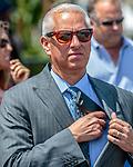 HALLANDALE BEACH, FL - Photo of Todd Pletcher taken March 28, 2015 at Gulfstream Park in Hallandale Beach, FL. (Photo by Bob Aaron/Eclipse Sportswire/Getty Images)