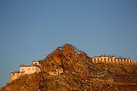 Sunset at Chiu Gompa Monastery, Lake Manasarovar, Tibet