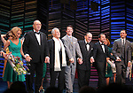 """Kristin Chenoweth, Neil Simon, Burt Bacharach, Sean Hayes, Hal David, Rob Ashford, Tony Goldwyn.taking a bow on the  Opening Night Broadway performance Curtain Call for """"PROMISES, PROMISES"""" at the Broadway Theatre, New York City..April 25, 2010."""