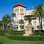 USA, Florida, St. Augustine: Casa Monica Hotel