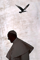 Pope Francis special Jubilee Audience at Saint Peter's Square at the Vatican on April 9, 2016