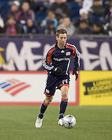 New England Revolution midfielder Steve Ralston (14). The New England Revolution defeated FC Dallas, 2-1, at Gillette Stadium on April 4, 2009. Photo by Andrew Katsampes /isiphotos.com
