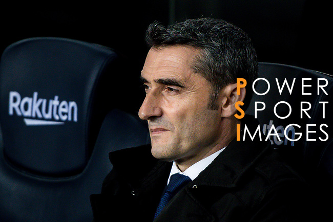 Coach Luis Ernesto Valverde Tejedor of FC Barcelona is seen prior to the La Liga 2018-19 match between FC Barcelona and RC Celta de Vigo at Camp Nou on 22 December 2018 in Barcelona, Spain. Photo by Vicens Gimenez / Power Sport Images