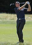 1 September 2008: Jim Furyk hits an approach shot at the Deutsche Bank Golf Championship in Norton, Massachusetts.
