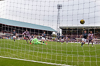 25th September 2021; Kilmac Stadium, Dundee, Scotland: Scottish Premiership football, Dundee versus Rangers; Joe Aribo of Rangers scores the opening goal to put his side 1-0 ahead in the 16th minute