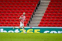 16th February 2021; Bet365 Stadium, Stoke, Staffordshire, England; English Football League Championship Football, Stoke City versus Sheffield Wednesday; Steven Fletcher of Stoke City celebrates his 83rd minute goal for 1-0