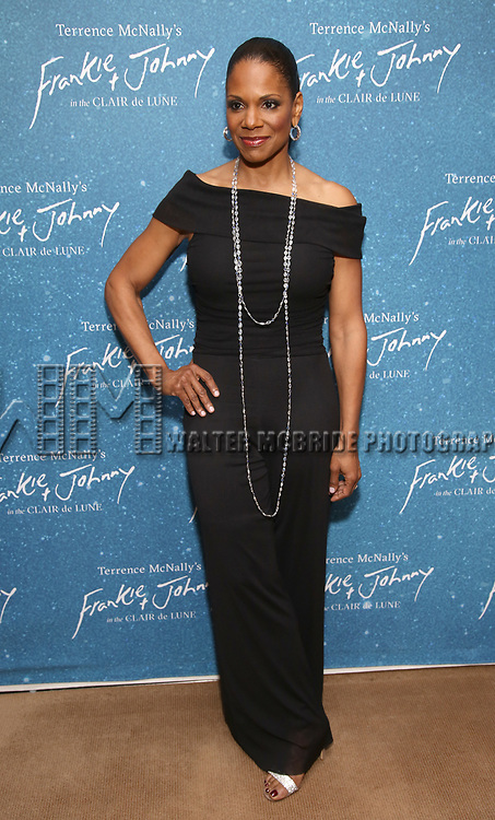 """Audra McDonald during the Opening Night After Party for """"Frankie and Johnny in the Clair de Lune"""" at the Brasserie 8 1/2 on May 29, 2019  in New York City."""