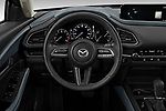 Car pictures of steering wheel view of a 2020 Mazda CX-30 Select 5 Door SUV Steering Wheel