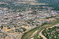 Downtown Pueblo and Fountain River